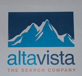 Alta Vista logo in 1998